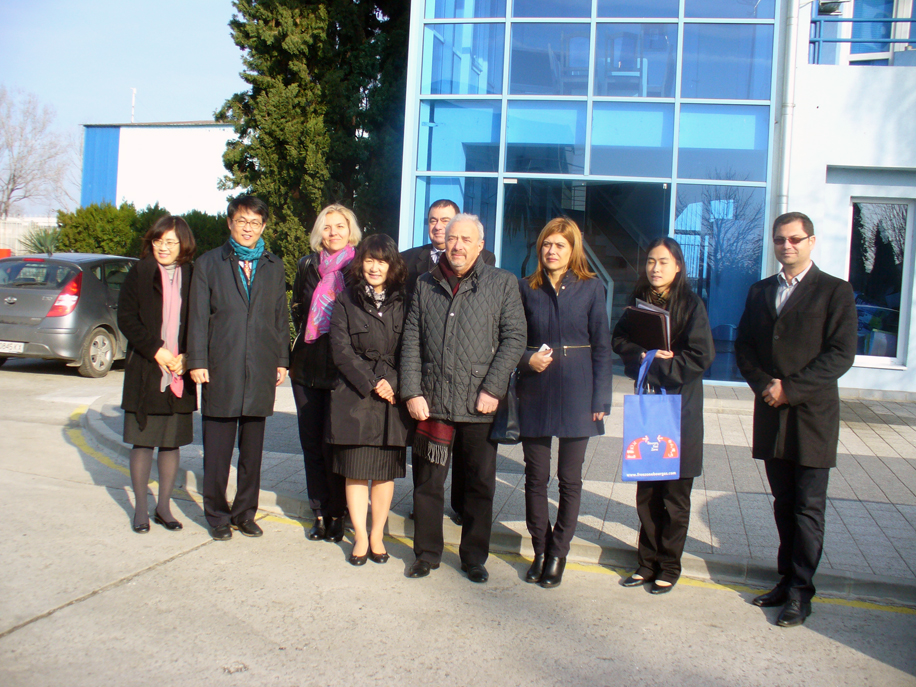Korean business delegation visited Bourgas Free Zone
